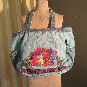 Laurel Burch canvas bag